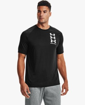 Men's UA Tech™ Triple Logo Short Sleeve
