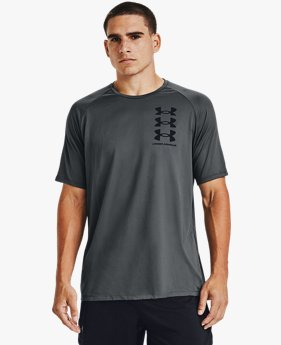 Men's UA Tech™ Triple Logo Short Sleeve