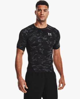 Men's HeatGear® Armour Camo Short Sleeve