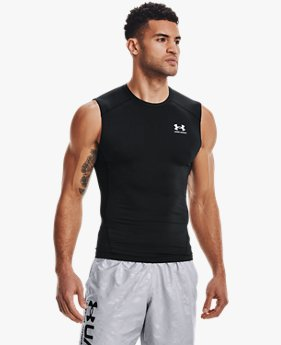 Men's HeatGear® Armour Sleeveless