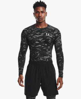 Men's HeatGear® Armour Camo Long Sleeve