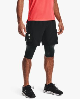Men's UA Run Anywhere 2-in-1 Shorts