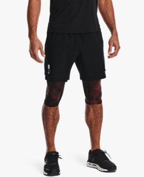 Short 2 en 1 UA Run Anywhere pour homme