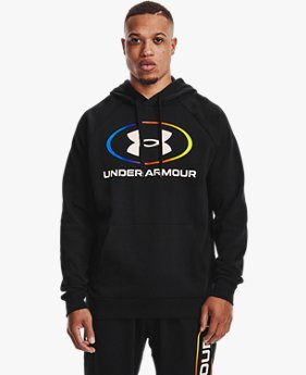 Sweat à capuche UA Rival Fleece Lockertag pour homme