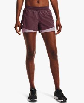 Women's UA Iso-Chill Run 2-in-1 Shorts