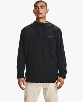 남성 UA 우븐 윈드브레이커 재킷
