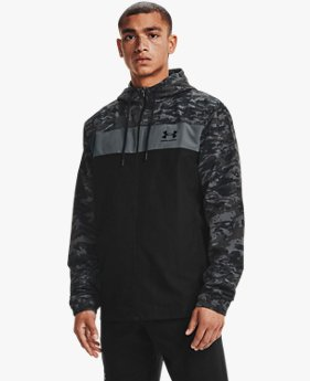 Men's UA Sportstyle Camo Windbreaker Jacket