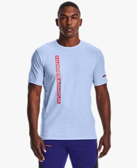 Men's UA Vertical Wordmark Short Sleeve