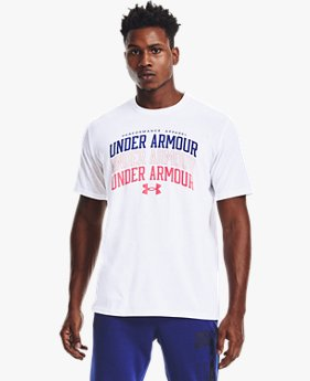 Men's UA Multi Color Collegiate Short Sleeve