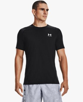Men's HeatGear® Armour Fitted Short Sleeve