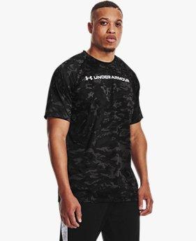 Men's UA Tech™ ABC Camo Short Sleeve