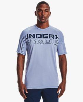 Men's UA Tech™ 2.0 Wordmark Short Sleeve