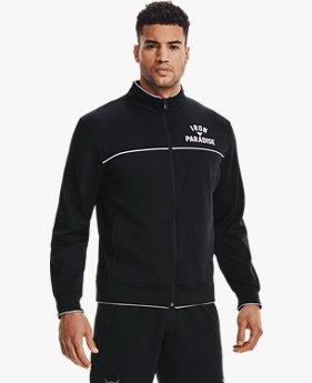 UA PROJECT ROCK 二ット トラックジャケット(トレーニング/MEN)