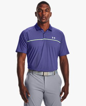 Polo UA Iso-Chill Hollen Stripe da uomo