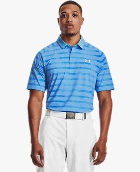 Herren UA Iso-Chill Floral Stripe Poloshirt