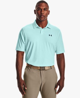 Herren UA Performance Stripe Poloshirt
