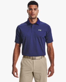 เสื้อโปโล UA Performance Printed สำหรับผู้ชาย