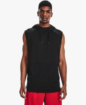 Men's Curry UNDRTD Sleeveless Hoodie