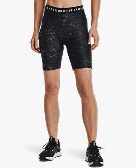 Shorts de Ciclismo Estampados HeatGear® Armour para Mujer