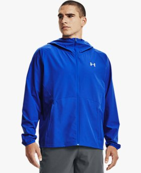 Men's UA Stretch Woven Hooded Jacket