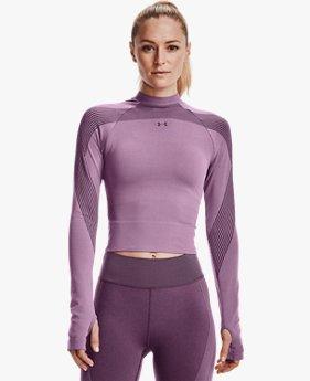 Women's UA RUSH™ Seamless Long Sleeve
