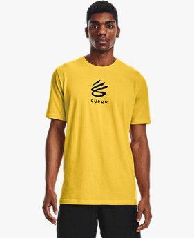 남성 커리 UNDRTD 스플래시 티셔츠