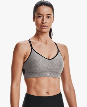 Women's UA Infinity Low Heather Sports Bra