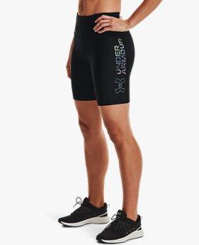 Women's HeatGear® Armour Geo Bike Shorts