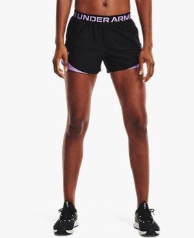 Women's UA Play Up 3.0 Geo Shorts