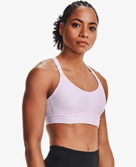 Women's UA Infinity Mid Covered Sports Bra