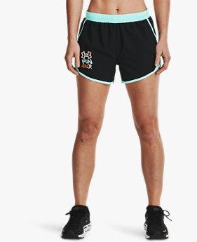 Shorts UA Fly-By 2.0 GRD para Mujer