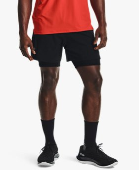 Men's UA Iso-Chill Run 2-in-1 Shorts