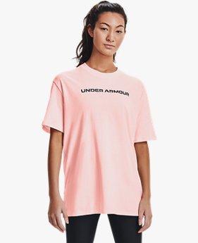 UAライブ ブランド オーバーサイズ ショートスリーブ(トレーニング/WOMEN)