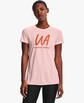 Women's UA Tech™ Twist Graphic Short Sleeve