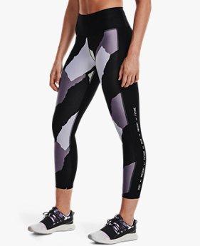 Leggings UA IWD Print Ankle para Mujer