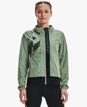 Women's UA Run Anywhere Laser Jacket