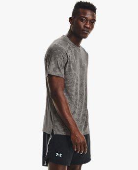 Men's UA Streaker 2.0 Camo Short Sleeve