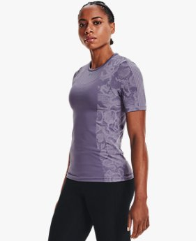 Women's UA RUSH™ HeatGear® Seamless Short Sleeve