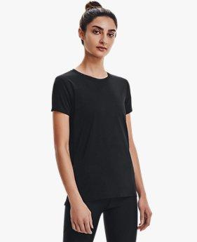 Women's HeatGear® Pintuck Short Sleeve