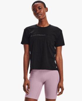 女士UA Pocket Mesh Graphic短袖T恤