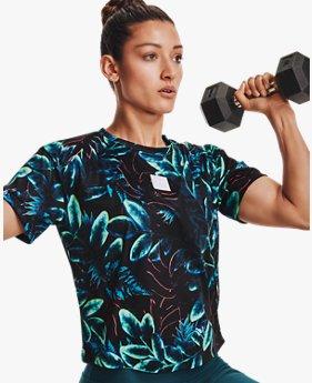 UAプリント グラフィック Tシャツ(トレーニング/WOMEN)