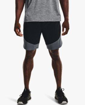 Men's UA HIIT Woven Colorblock Shorts