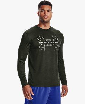 Men's UA Training Vent Graphic Long Sleeve