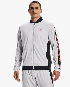 เสื้อแจ็คเก็ตผ้าถัก UA สำหรับผู้ชาย