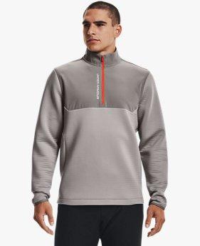 Camiseta con ½ Cierre UA Storm Daytona para Hombre