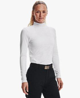 여성 ColdGear® Infrared 스톰 긴팔 골프 모크