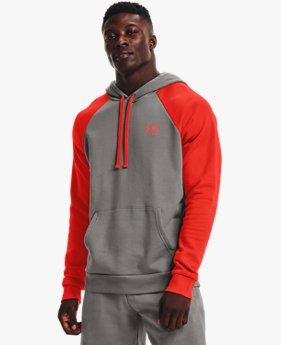 Men's UA Rival Fleece Colorblock Hoodie
