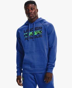 Men's UA Rival Fleece Signature Box Hoodie