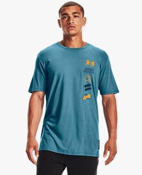 Men's UA Multi Logo Scribble Short Sleeve