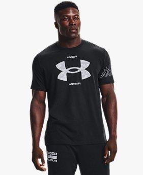 Men's UA ABC Camo Fill Big Logo Short Sleeve